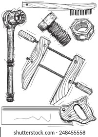 Work tool sketches