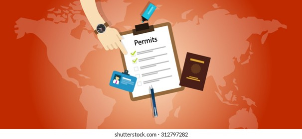 work travel permits passport application immigration