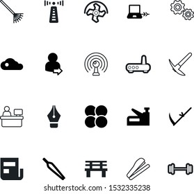 work vector icon set such as: education, connect, barbell, eyebrow, horror, furniture, ethernet, cultivator, consultant, mechanical, rocks, sphere, access, steel, tech, pick, laptop, weight, add