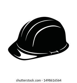 Worker Hat Helmet Protect Vector