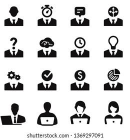 working icons vector