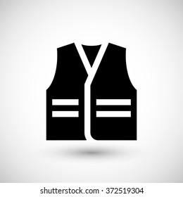 Working vest icon