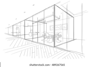 The Workplace Illustration.