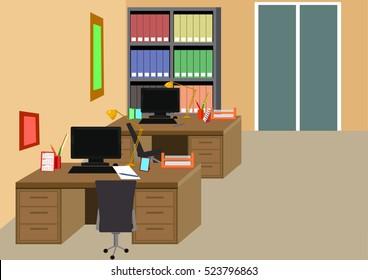workspace in office