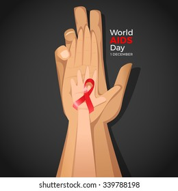 World Aids Day card