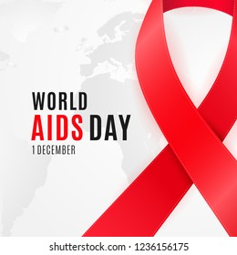World Aids Day poster design for National HIV Awareness Campaign.