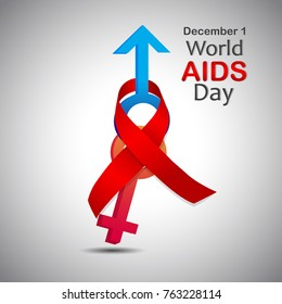 world aids day (World AIDS Day takes place on the 1st December each year)