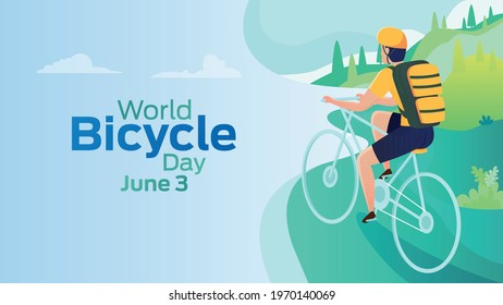 World Bicycle Day on June 3