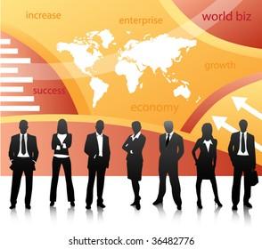 World biz concept
