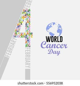 world cancer day in February 4th.