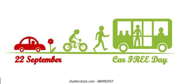 World Car free day, september 22