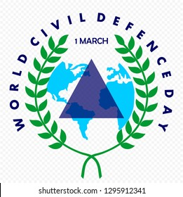 World Civil Defence Day on March 1