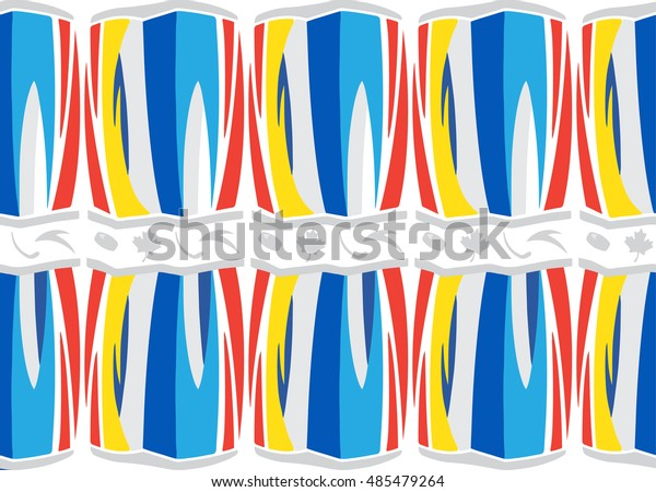 World Cup Hockey 2019 Ice Hockey Stock Vector Royalty Free 485479264