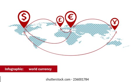 World Currency Symbols Images, Stock Photos & Vectors
