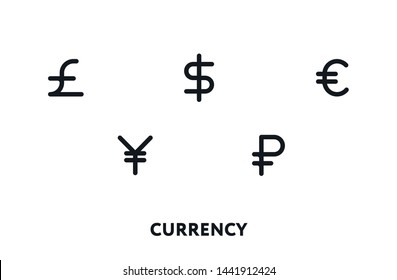 Pound Currency Symbol Images, Stock Photos & Vectors