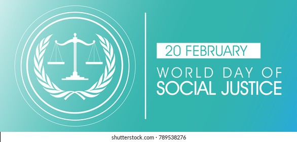 World Day of Social Justice on February 20 Background