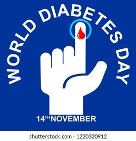 world diabetes day, poster