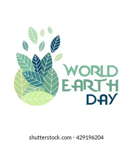World Earth day campaign poster