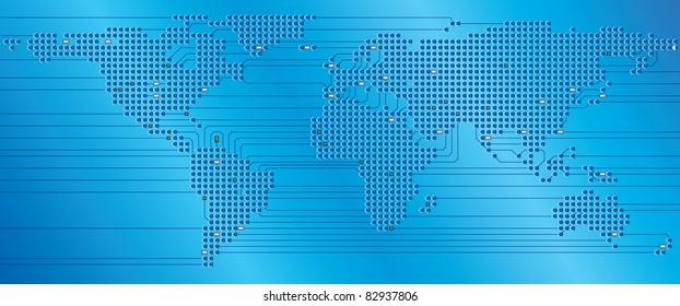 World electronic Circuit board