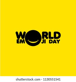 World Emoji Day Vector Template Design Illustration