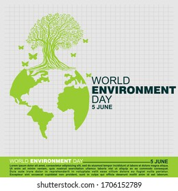 World Environment Day, Poster and Banner
