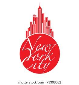 World famous landmark - New York City Big Apple