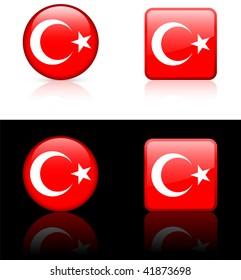 World flag series: Turkey