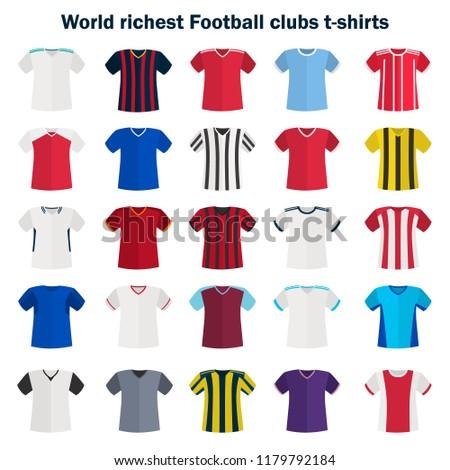 World football team shirt