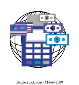 world global dataphone payment credit card money