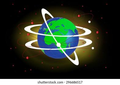 World Globe Connectivity
