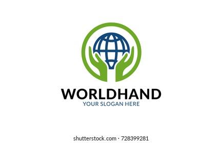 World Hand Logo