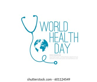 world health day concept poster