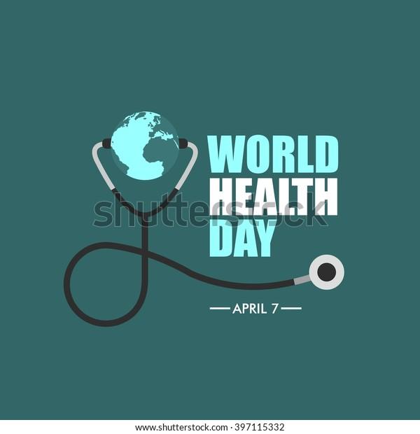 World Health Day Logo Icon Design Stock Vector (Royalty ...