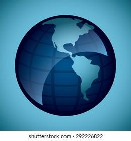 world icon design, vector illustration eps10 graphic