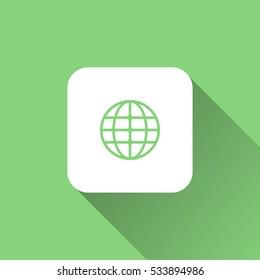 world icon. vector illustration