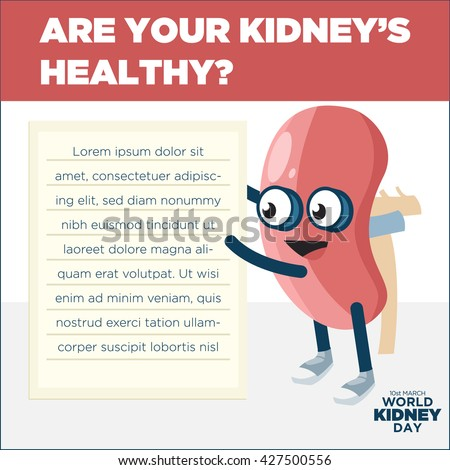World Kidney Day Awareness Campaign Poster Template