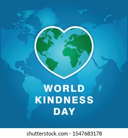 World Kindness Day Template Design. Vector Eps 10