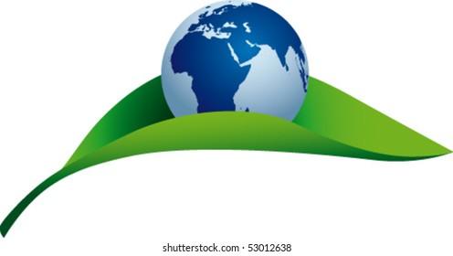 World in a leaf