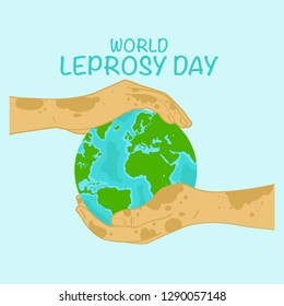 World Leprosy Day Poster