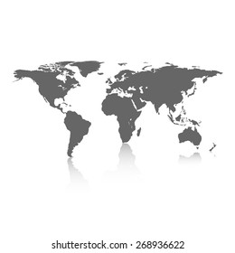 Flat world stock illustrations images vectors shutterstock world map gumiabroncs Images