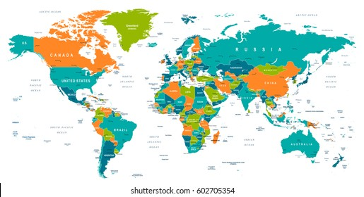 Central asia images stock photos vectors shutterstock world map gumiabroncs Images