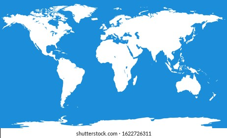 World map background. Blank worldmap template for infographics, reports, designs