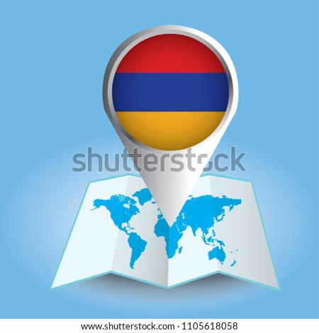 World Map Centered On Asia Magnified Stock Vector (Royalty Free ...