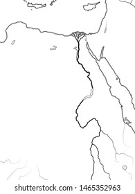 Nile River Map Images, Stock Photos & Vectors | Shutterstock