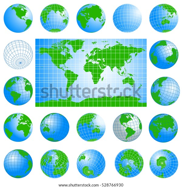 World Map Globes Green Set Planet Stock Vector (Royalty Free ... on t and o map, maps and tools, raised-relief map, maps and tables, topographic map, maps and directions, maps and travel, maps and compasses, maps and diagrams, maps and books, maps and models, maps and food, maps and scales, maps and water, maps and telescopes, maps and pins, maps and atlases, maps and flags, maps and graphs, maps and charts, world map, maps and calendars, maps and prints, maps and gps,
