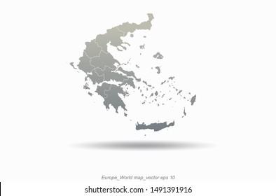Greece Map Images, Stock Photos & Vectors | Shutterstock
