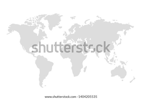 world map illustration vector eps10