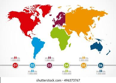 Mapa Mundi Para Colorir Imagenes Fotos De Stock Y Vectores