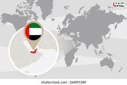 dubai world map Images, Stock Photos & Vectors | Shutterstock