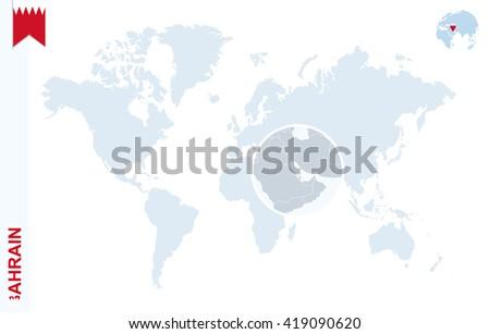 Bahrain In World Map